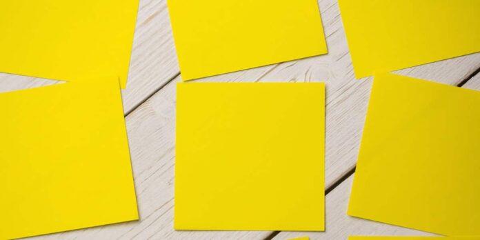 5 Cosas para concentrarse mejor en las tareas diarias - Post its